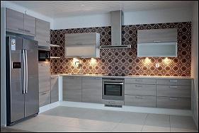 Mosaico hidraulico cocina for Cocinas enteras