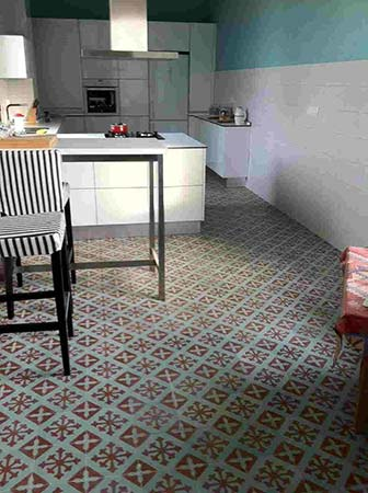 Biblioteca de materiales h medos suelos hidr ulicos for Porcelanico imitacion baldosa hidraulica